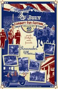 Corbett Fun Festival 2011 Poster by Karen Hawley